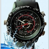 מצלמה נסתרת בצורת שעון יד 8GB, נגד מים