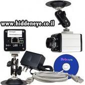 מצלמת IP אבטחה, חיבור לאינטרנט + ראיית לילה
